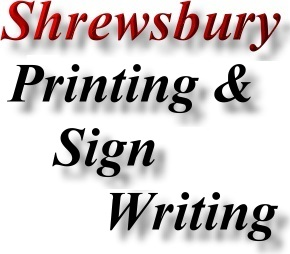 Find Shrewsbury Printing and Sign Writing Directory Marketing