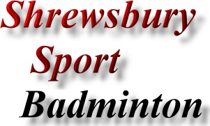 Shrewsbury Sports promotion - badminton
