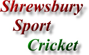 Find Shrewsbury Sports promotion - cricket
