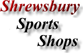 Find Shrewsbury Sports Shops Directory Marketing Service