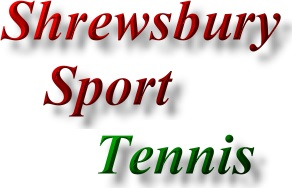 Find Shrewsbury Sports promotion - tennis