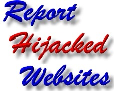 Report Shrewsbury Website Hacking - Website Hijacking